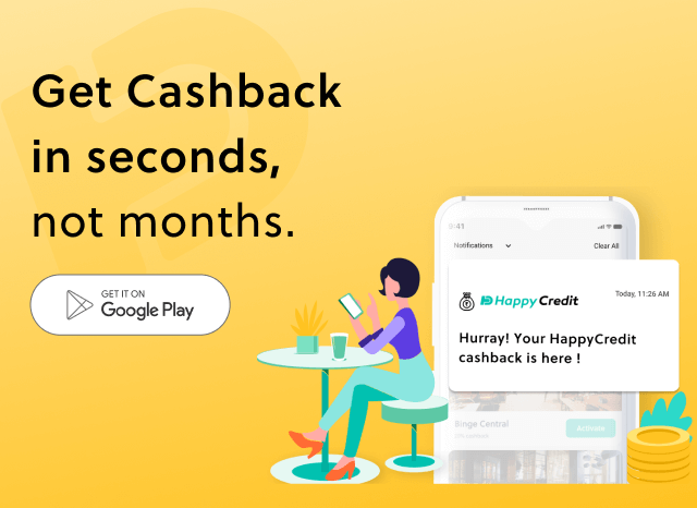 Download HappyCredit App and enjoy Aishback